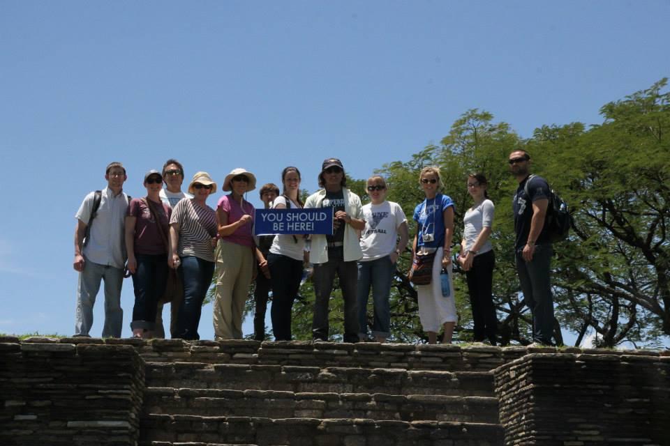 Group at the Mayan Ruins